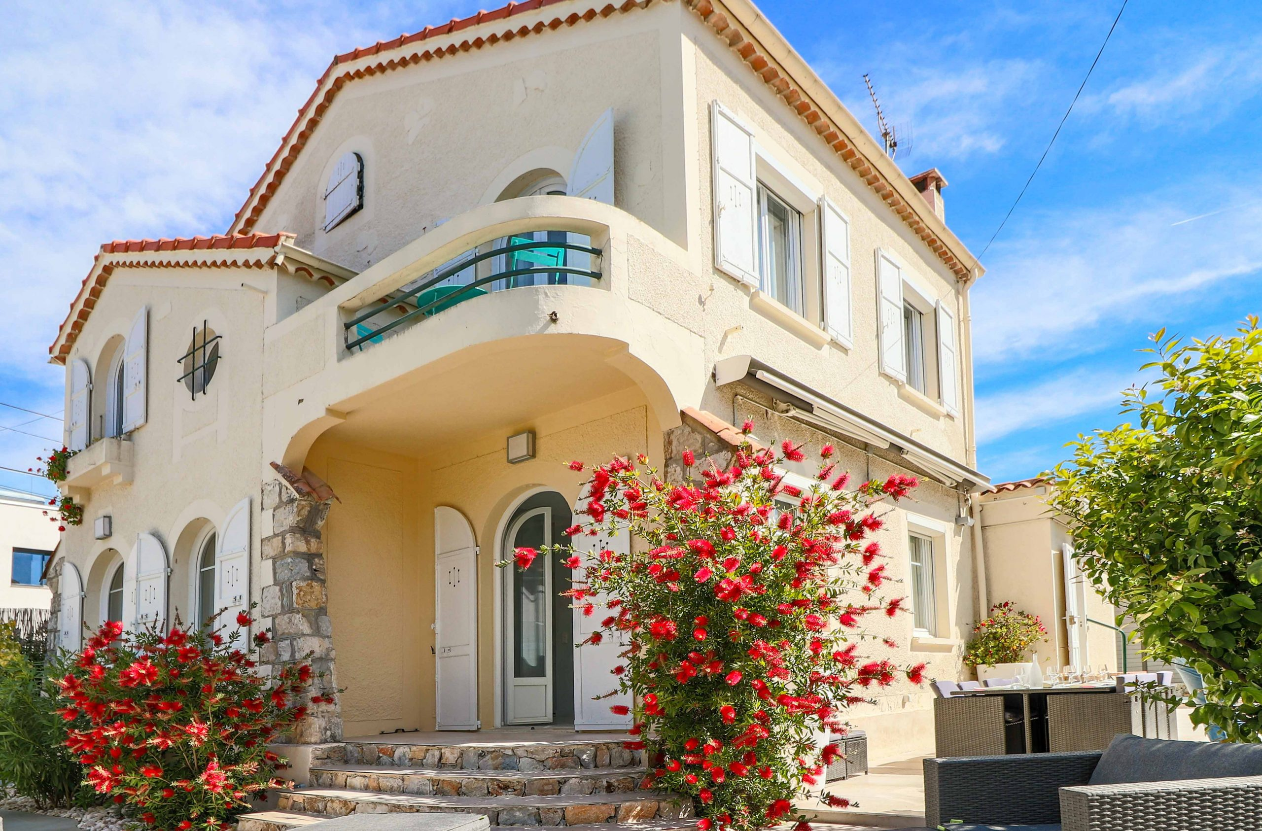 Property Juan les pins villa rental