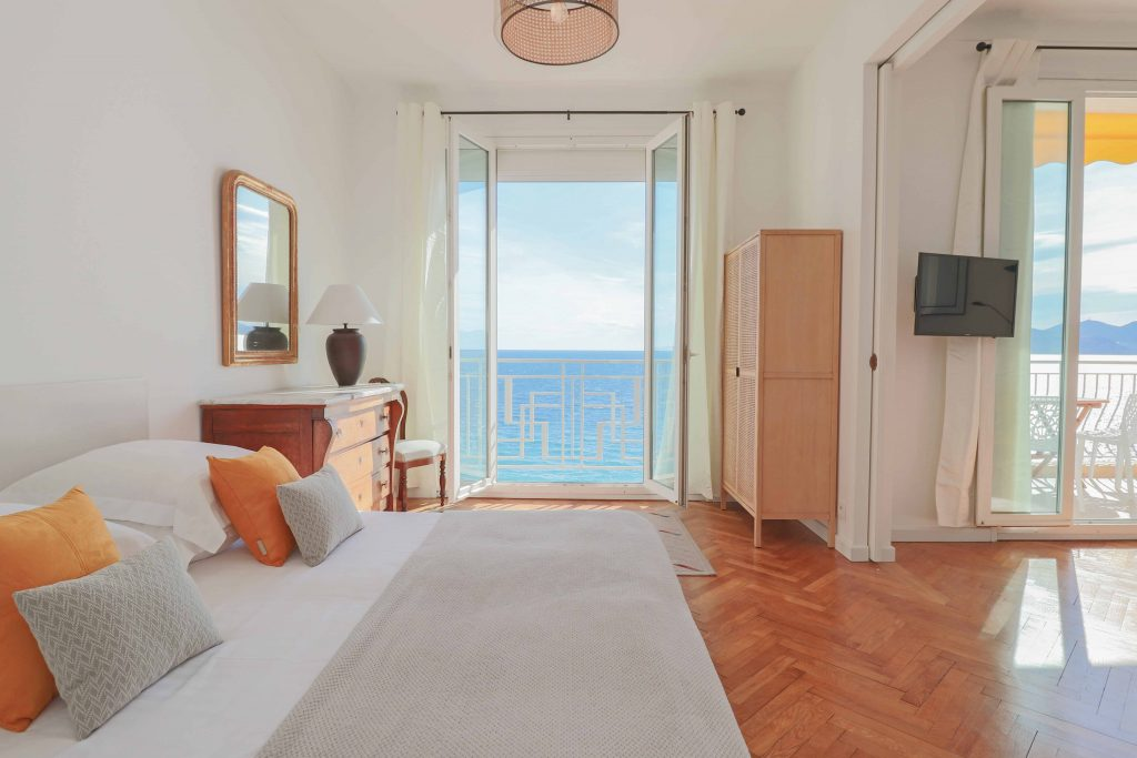 The best vacation rental in Cannes seaview